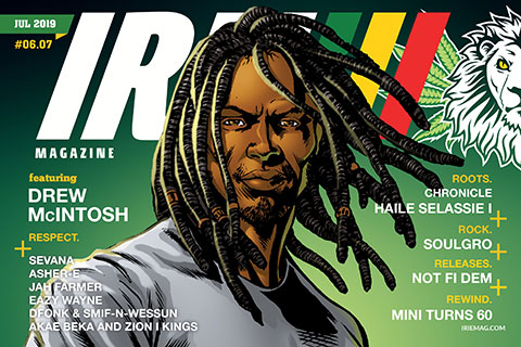 IRIE - July 2019 Issue featuring Drew McIntosh of Dread & Alive